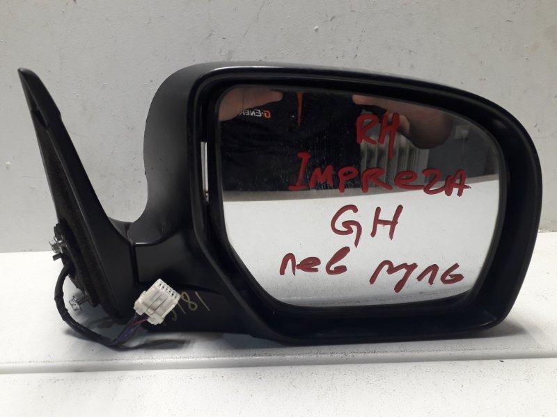 Зеркало Subaru Impreza GH правое (б/у)