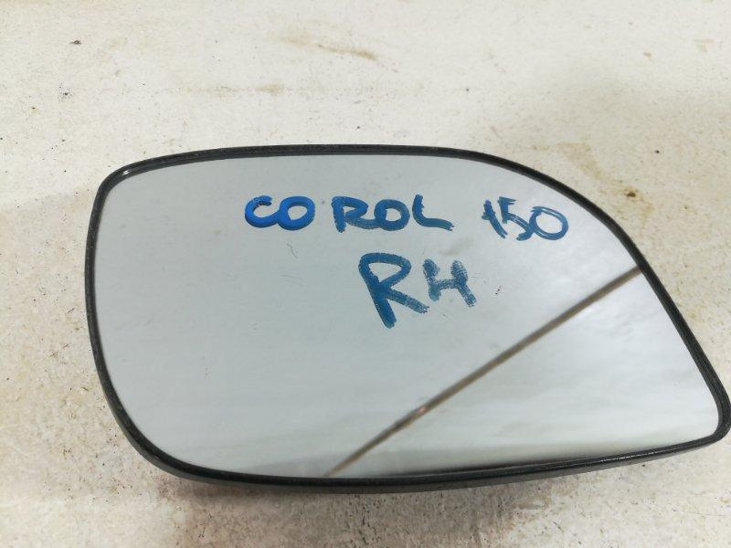 Стекло зеркала Toyota Corolla 150 E150 2006 переднее правое SR1400 (б/у)