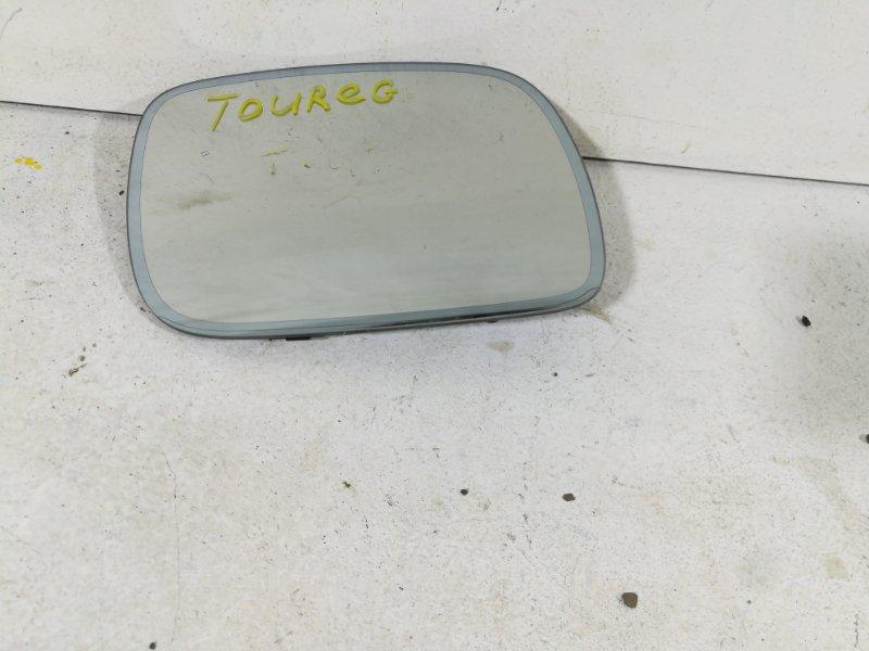 Стекло зеркала Volkswagen Touareg 1 7L 2002 переднее правое (б/у)