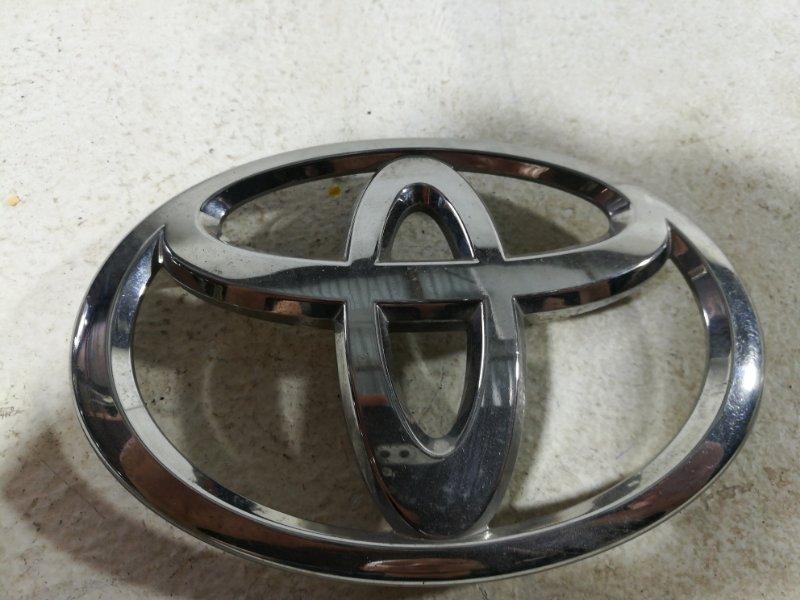 Эмблема Toyota Highlander 2 XU40 2007 передняя 9097502191 (б/у)