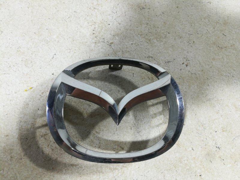 Эмблема Mazda 3 BK 2002 задняя LD4751731 (б/у)