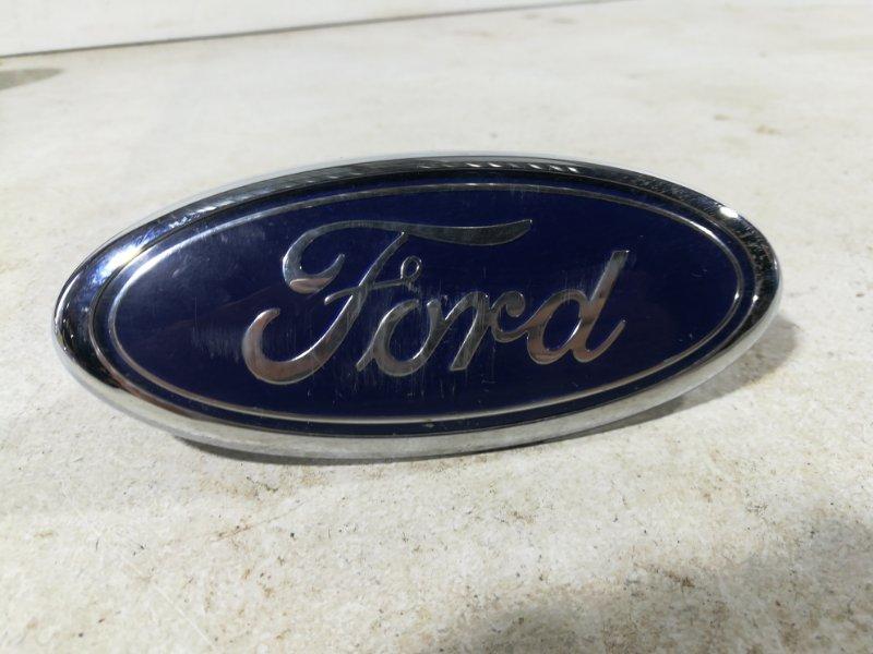 Эмблема Ford Focus 2 CB4 2004 передняя 4M518216AA (б/у)