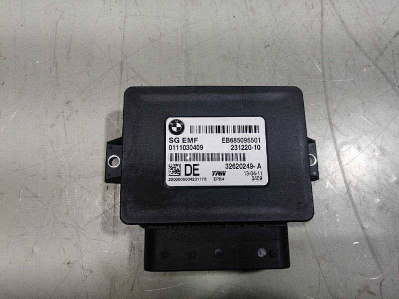 Блок управления парковочным тормозом Bmw X3 F25 3.0 2011 34436887358 (б/у)