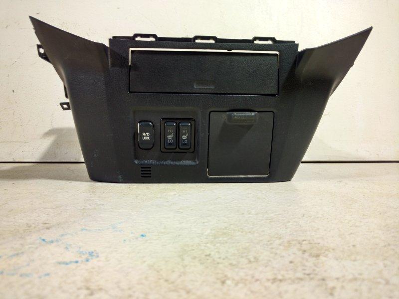 Накладка центральной консоли Mitsubishi Pajero 8002A225 (б/у)