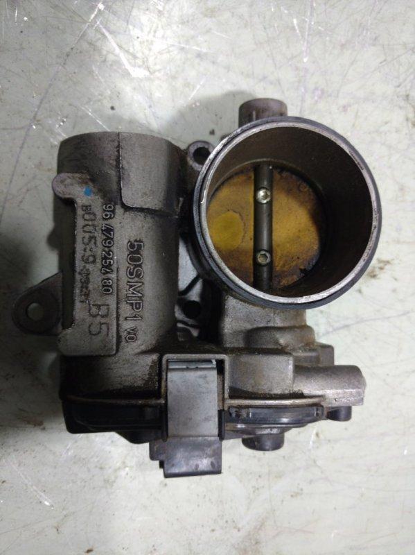 Дроссельная заслонка Peugeot 207 ET3J4 1635W2 (б/у)