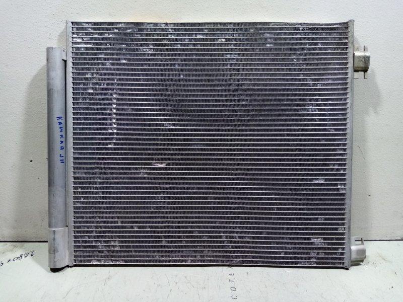 Радиатор кондиционера (конденсер) Nissan Qashqai 2 J11 2014> 921004EA0A (б/у)