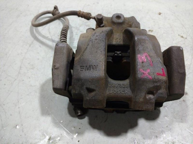 Суппорт передний Bmw X3 F25 3.0 (N52B30AF) 2011 передний левый 34106790921 (б/у)