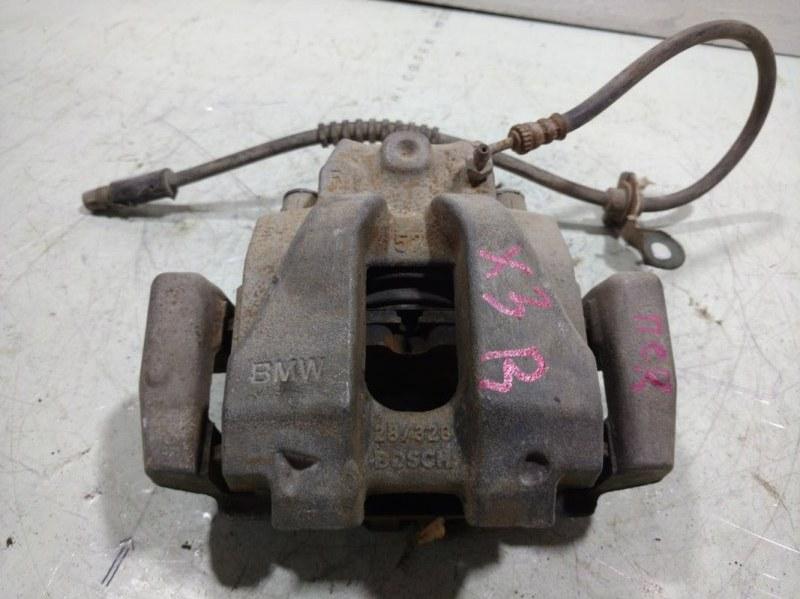 Суппорт передний Bmw X3 F25 3.0 (N52B30AF) 2011 передний правый 34106790922 (б/у)