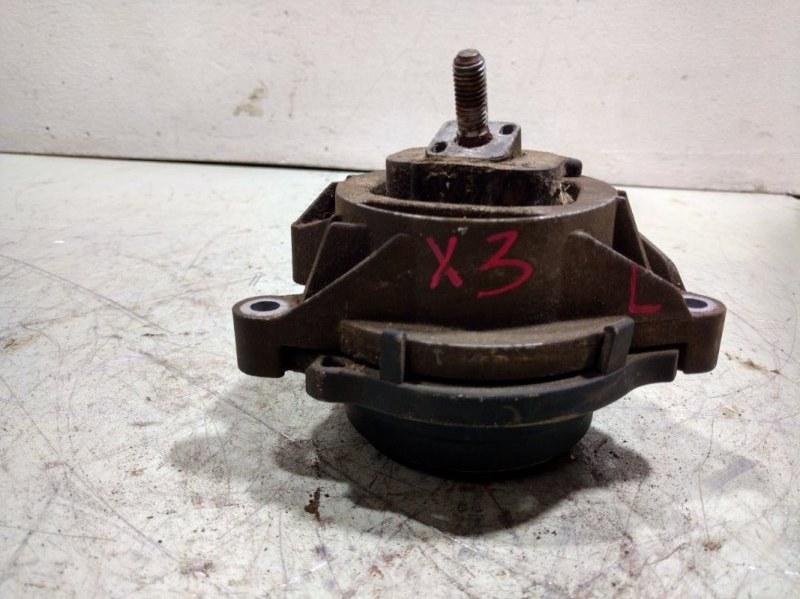 Опора двигателя Bmw X3 F25 3.0 2011 левая 22116785711 (б/у)