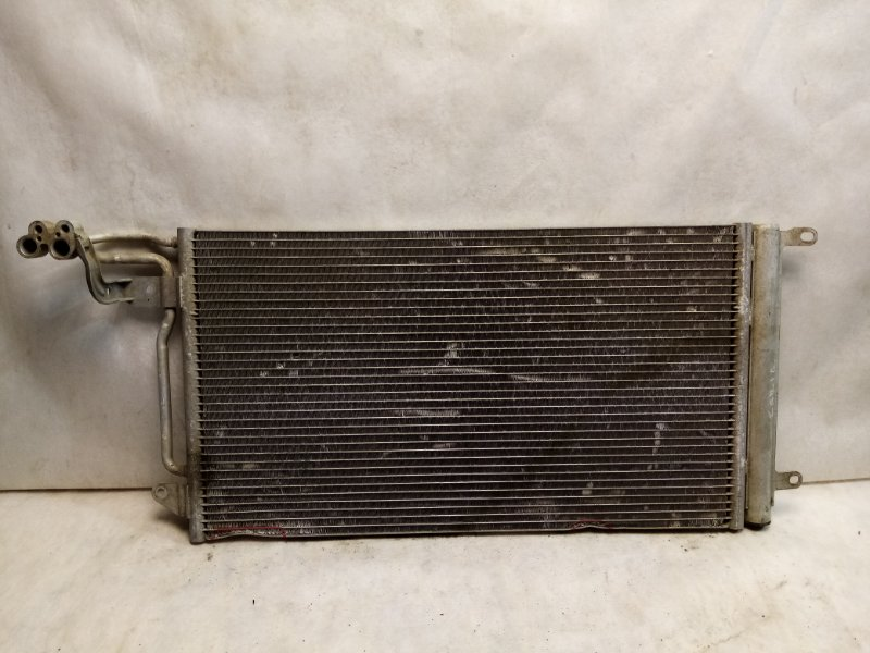 Радиатор кондиционера (конденсер) Volkswagen Polo MK5 2011> 6R0820411H (б/у)