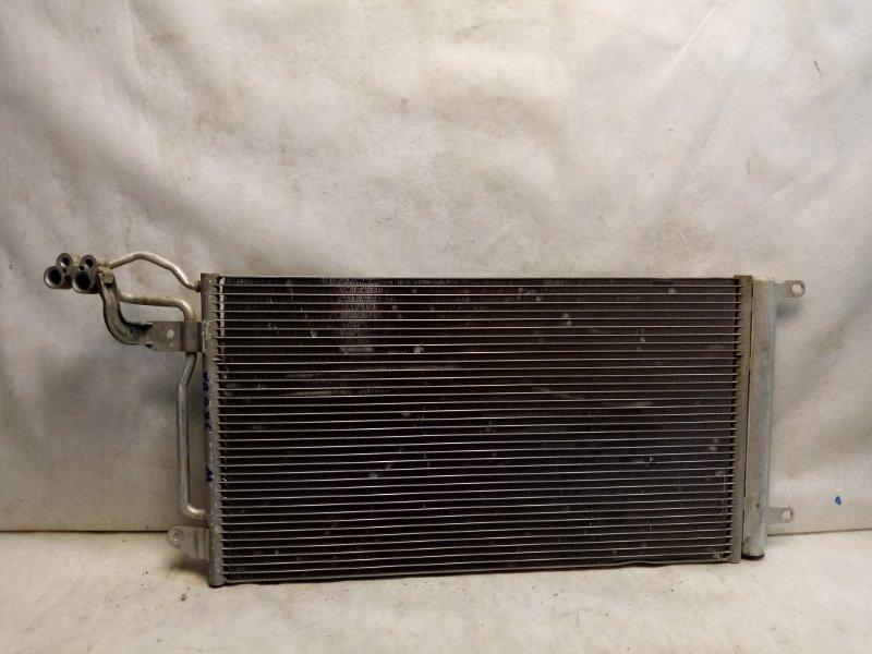 Радиатор кондиционера (конденсер) Volkswagen Polo MK5 2011> 6R0820411T (б/у)