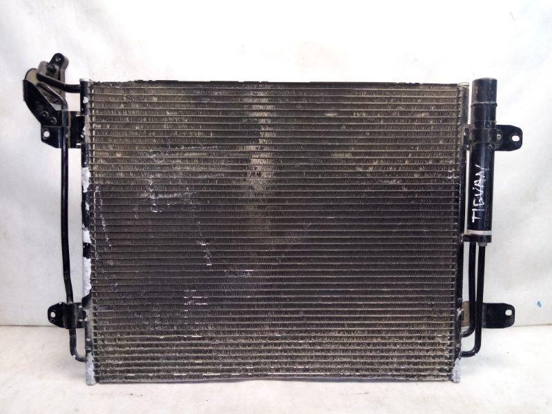 Радиатор кондиционера (конденсер) Volkswagen Tiguan 1 NF 2011 5N0820411E (б/у)