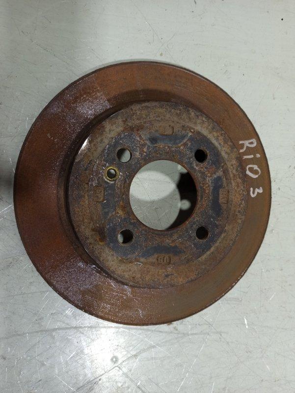 Тормозной барабан Kia Rio 3 517120U000 (б/у)
