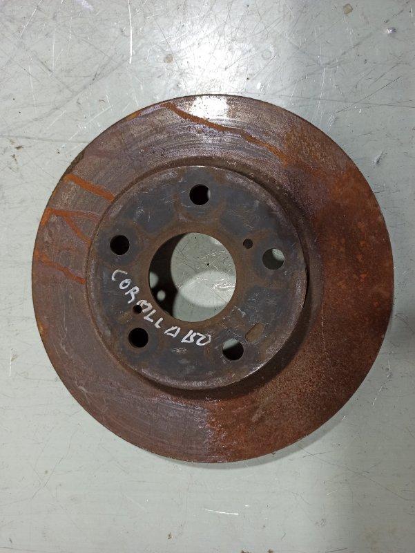 Тормозной барабан Toyota Corolla 150 передний 4351260180 (б/у)