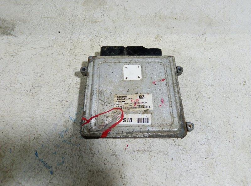 Блок управления двигателем Kia Carens 2007 3911225050 (б/у)