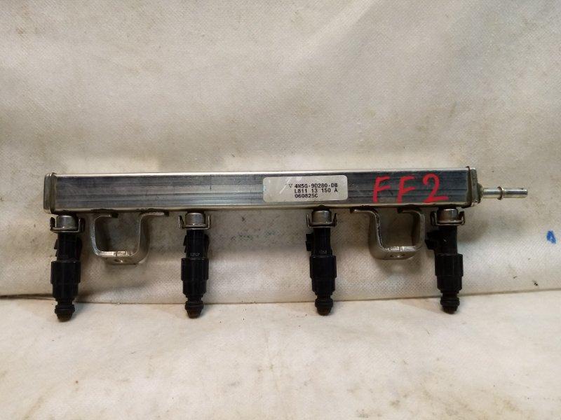 Рейка топливная (рампа) Ford Focus 2 СЕДАН 1.8 2006 4M5G9D280DB (б/у)