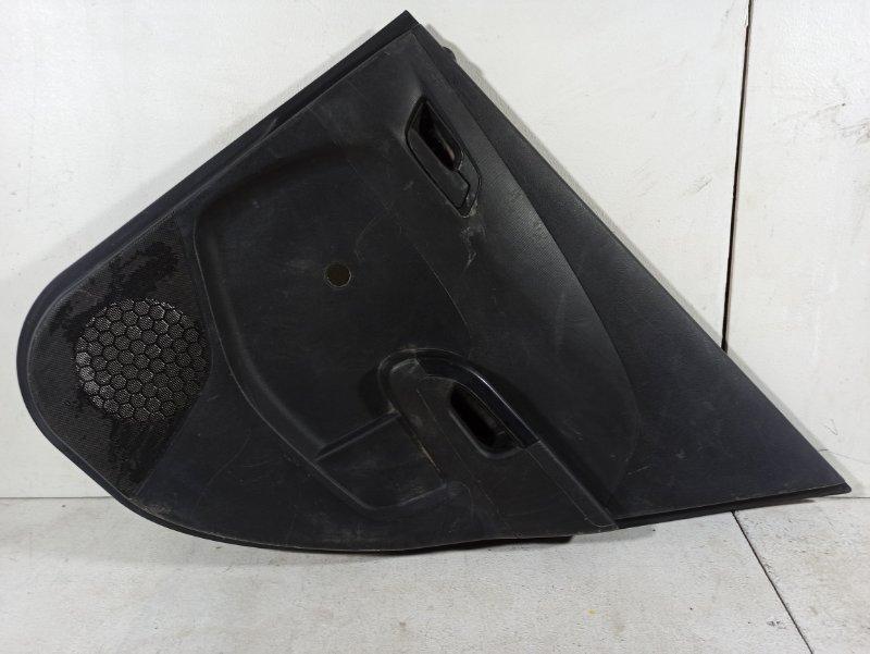 Обшивка двери задней правой Chevrolet Aveo T300 T300 1.6 F16D4 2013 задняя правая 96994189 (б/у)
