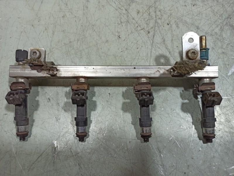 Рейка топливная (рампа) Opel Corsa D D 1.2 2006 24420543 (б/у)