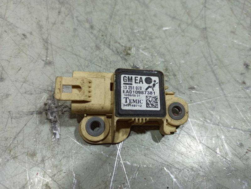 Датчик air bag Opel Astra H 13251078 (б/у)