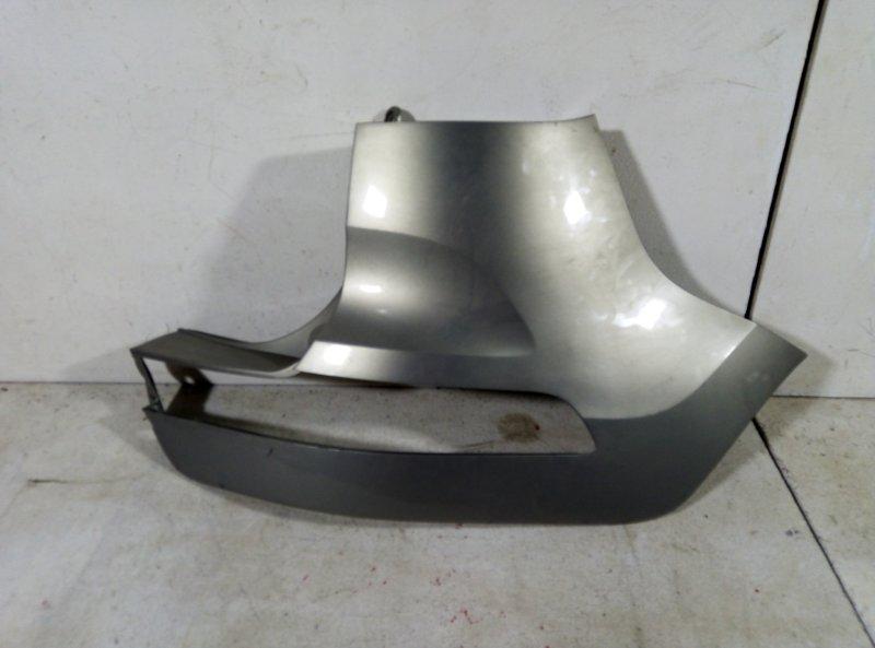 Накладка заднего бампера Kia Sportage 3 задняя правая 86672-3U000 (б/у)