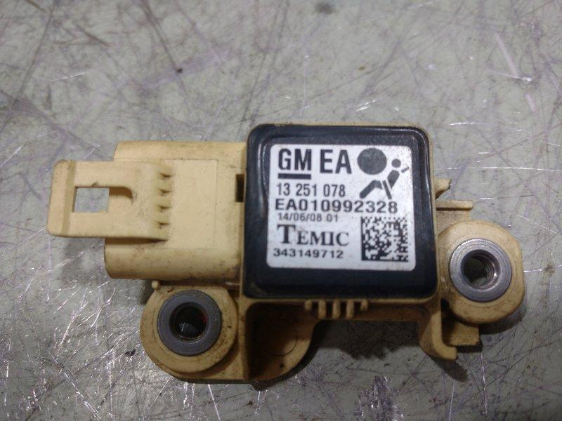 Датчик air bag Opel Astra H L48 2004 13251078 (б/у)