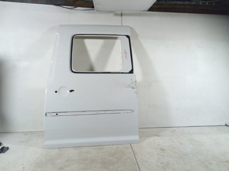 Дверь Volkswagen Caddy 2016> задняя левая (б/у)