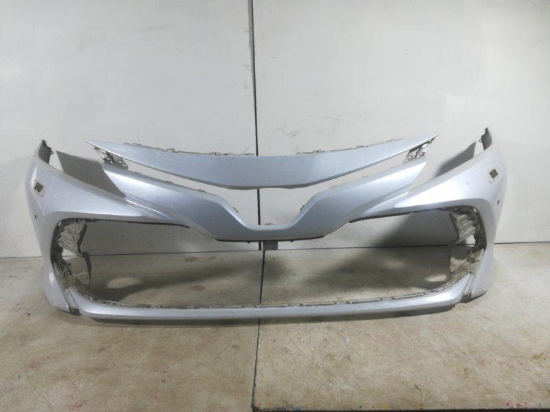 Бампер передний Toyota Camry 70 V70 передний 521190X946 (б/у)