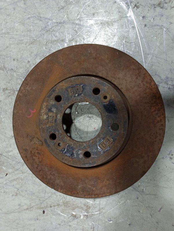 Диск тормозной передний вентилируемый Hyundai I30 2007 517121H000 (б/у)