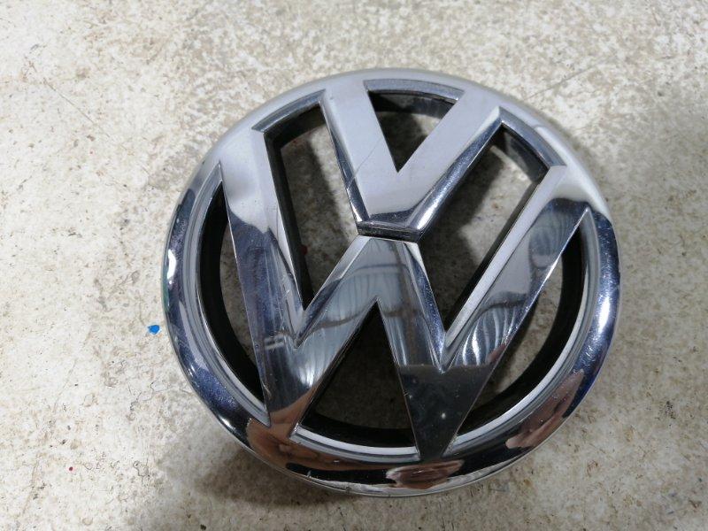 Эмблема Volkswagen Polo 2011> 6R0853600A (б/у)