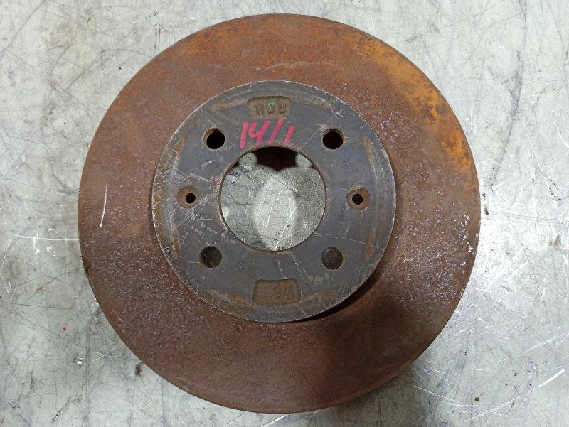 Диск тормозной Kia Rio 3 2011 передний 517120U000 (б/у)
