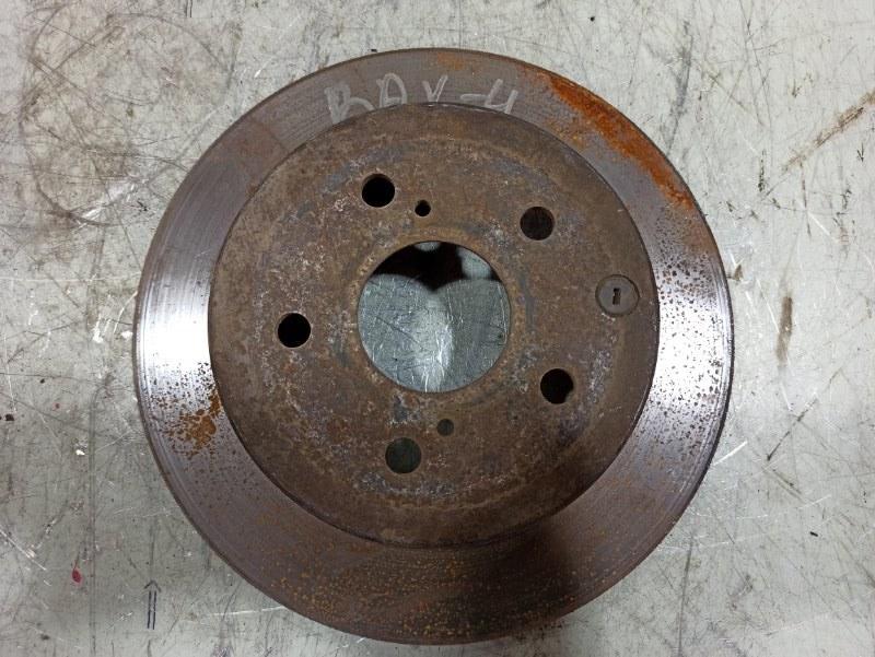 Диск тормозной Toyota Rav4 XA30 2006 задний 4243142060 (б/у)