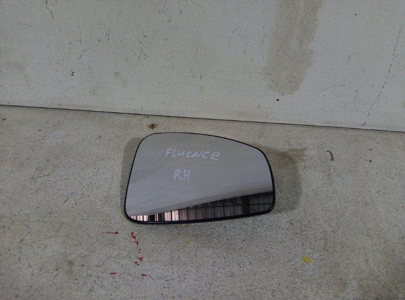 Зеркальный элемент Renault Fluence передний правый 232634058 (б/у)