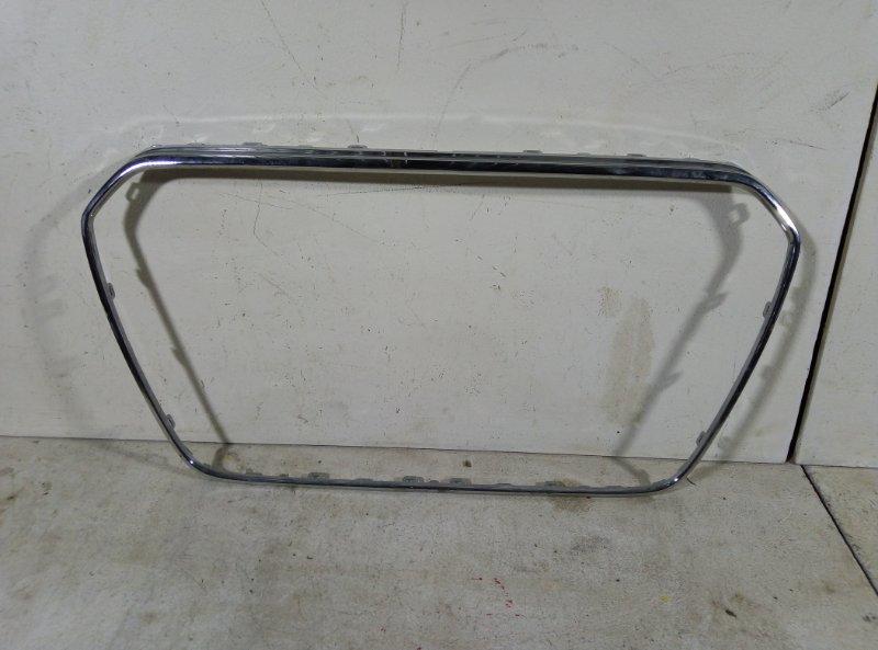 Хром накладка решетки бампера Audi A4 8K0853651 (б/у)