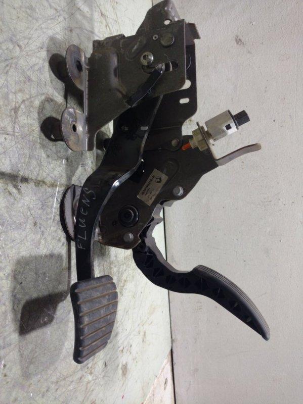 Педаль тормоза Renault Fluence L30 K4M 2010 465010021R (б/у)