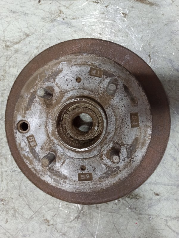 Диск тормозной Mitsubishi Galant задний TB218047 (б/у)