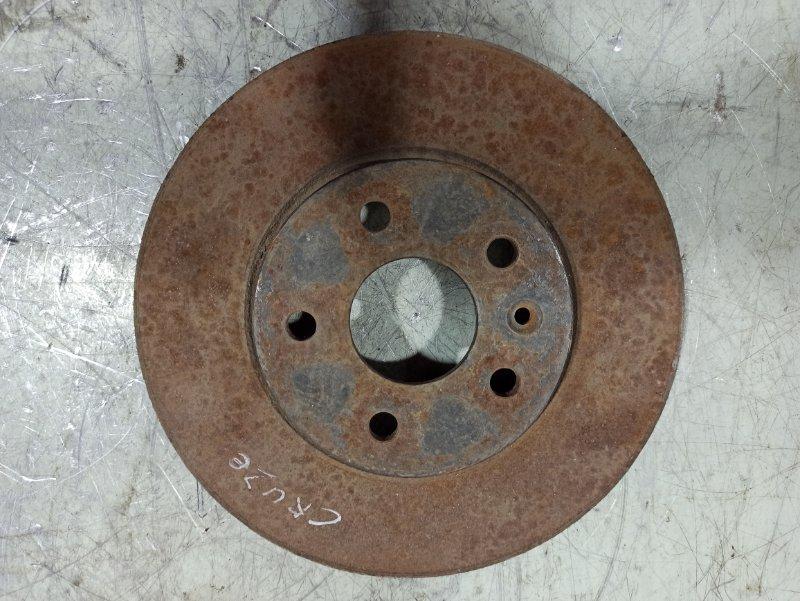 Диск тормозной передний вентилируемый Chevrolet Cruze 2009 13502045 (б/у)