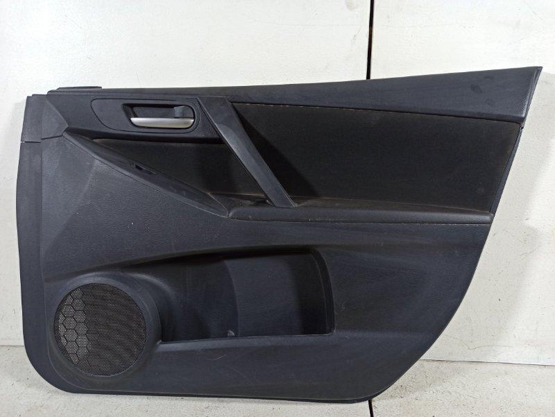 Обшивка двери Mazda 3 BL 1.6 2011 передняя правая (б/у)