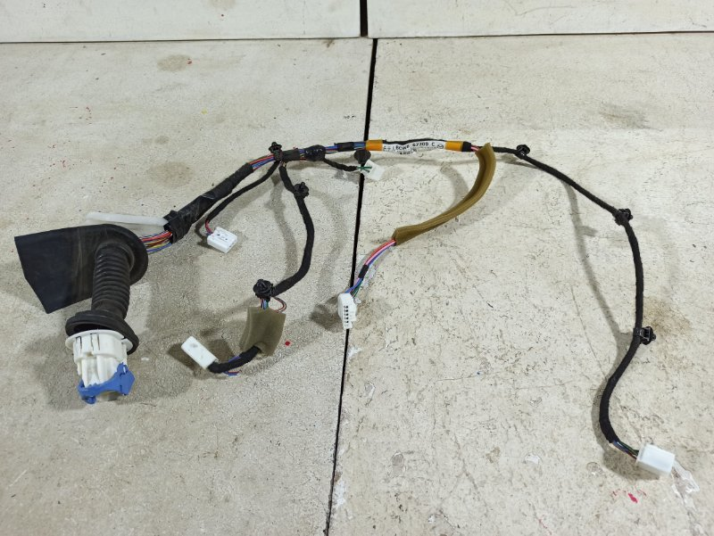 Проводка двери Mazda 3 BL 1.6 2011 передняя правая (б/у)