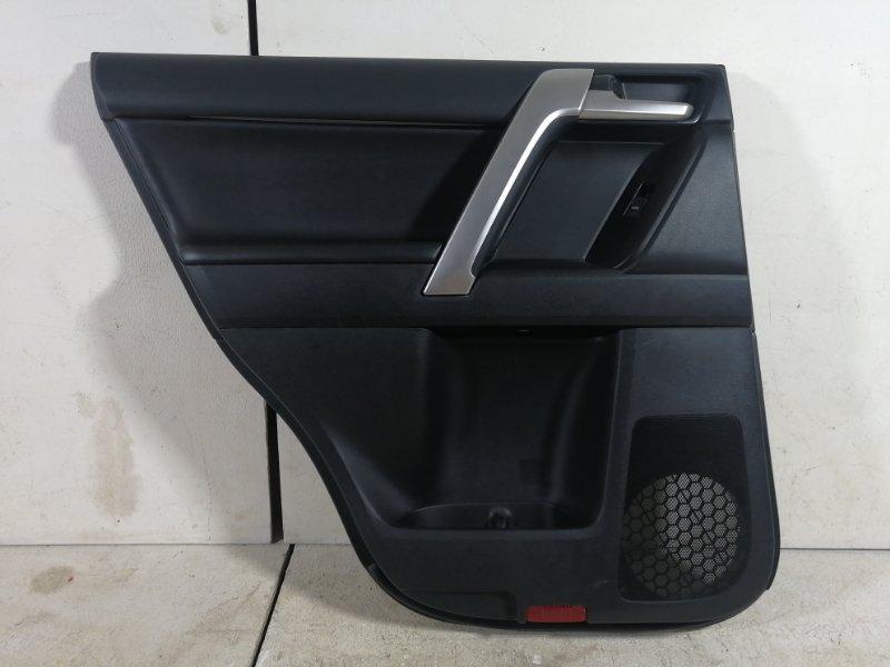 Обшивка двери Toyota Land Cruiser Prado 150 KDJ150 1GDFTV 2018 задняя левая (б/у)