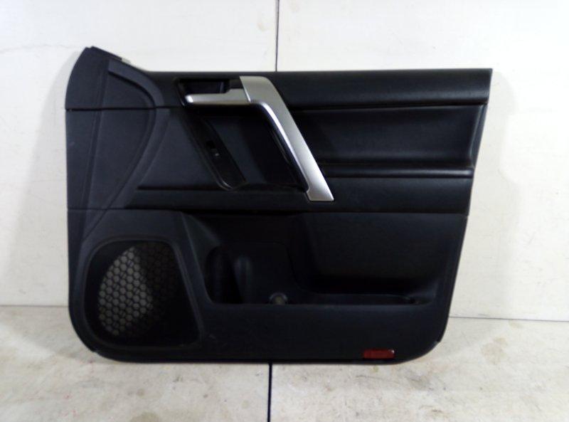 Обшивка двери Toyota Land Cruiser Prado 150 KDJ150 1GDFTV 2018 передняя правая (б/у)