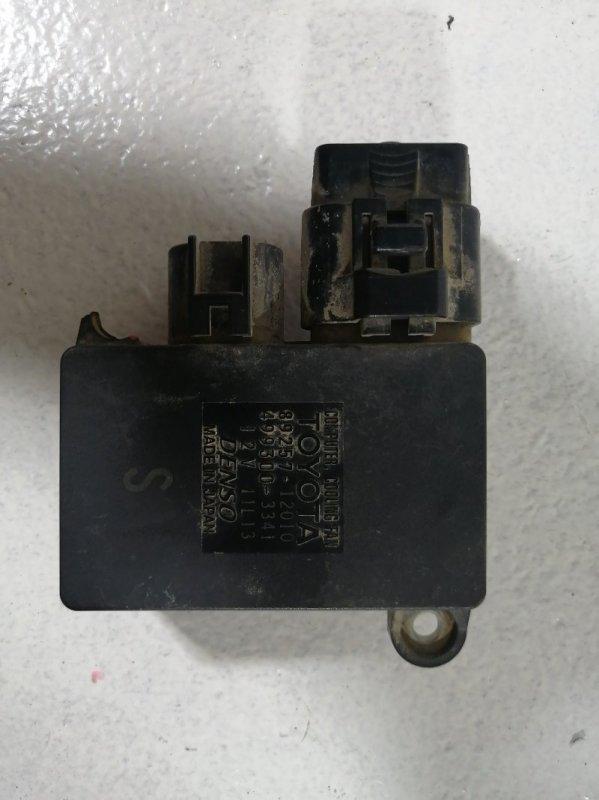 Блок управления вентилятором Toyota Corolla 150 E15 (б/у)