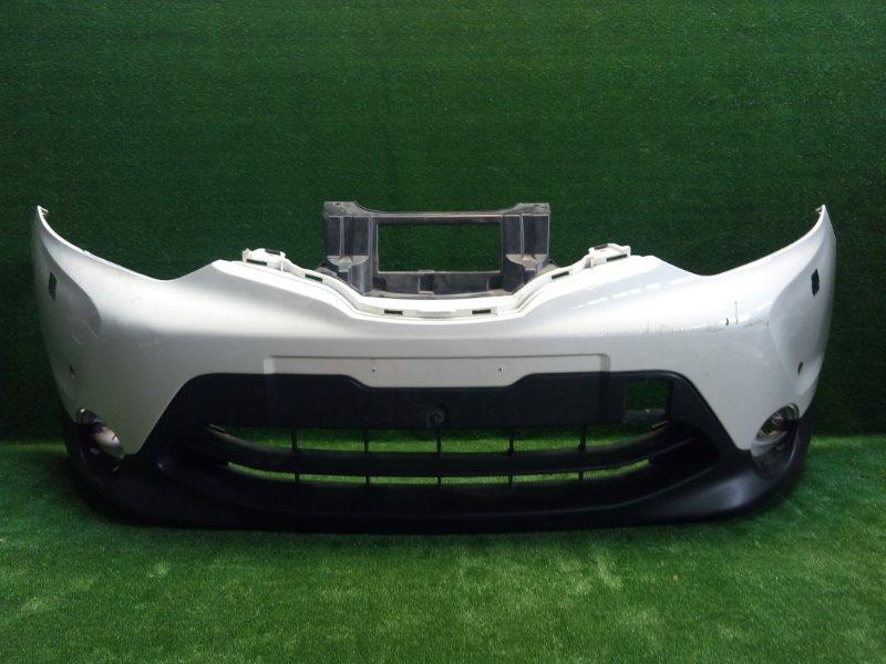 Бампер передний Nissan Qashqai 2 J11 2014> (б/у)