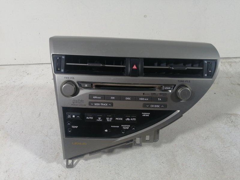Магнитола Lexus Rx AL10 2009 (б/у)