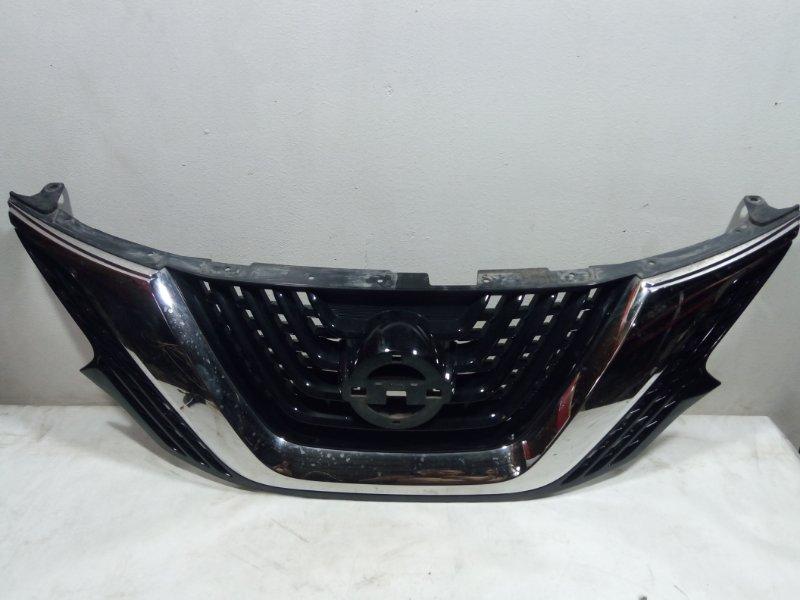 Решетка радиатора (хром) Nissan Murano Z52 2016> (б/у)