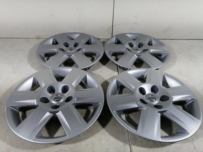 Колпак декор. легкосплавного диска Nissan Qashqai 1 J10 2006 (б/у)