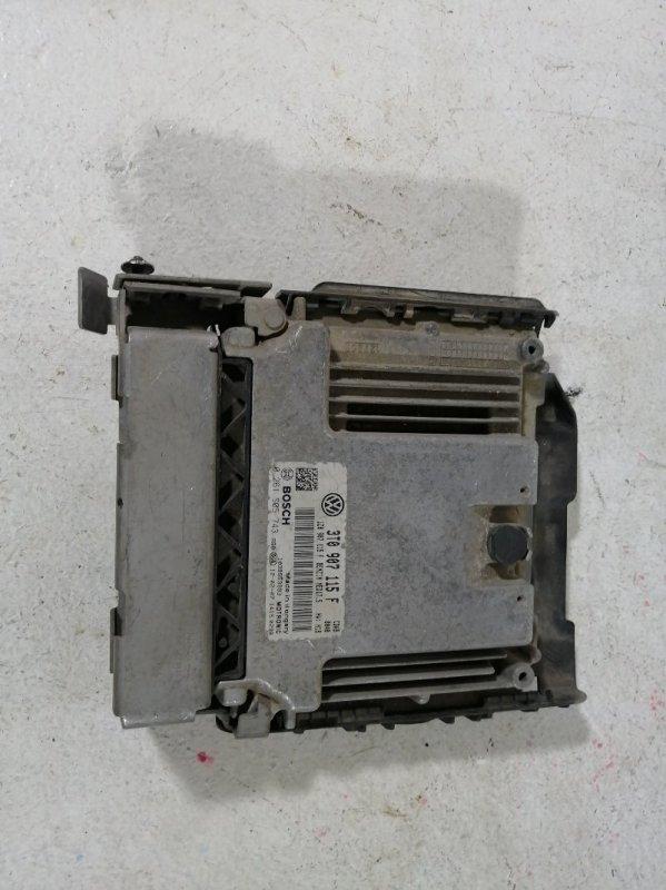 Блок управления двигателем Skoda Superb 3T 2008 (б/у)