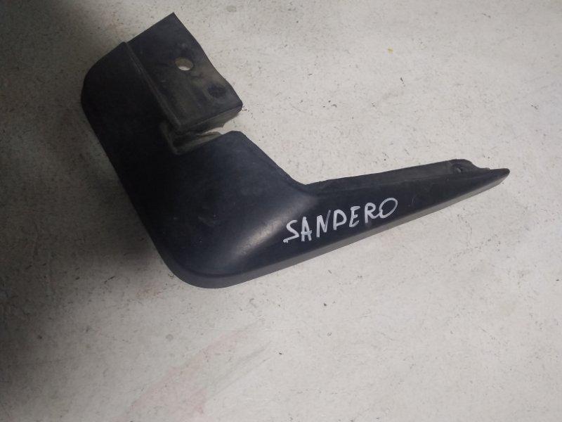 Брызговик Renault Sandero 1 2009> передний правый (б/у)