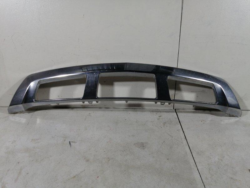 Накладка на бампер хром Mercedes Clk передняя (б/у)