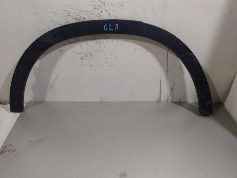 Накладка арки колеса Mercedes Gla X156 2014> задняя правая (б/у)
