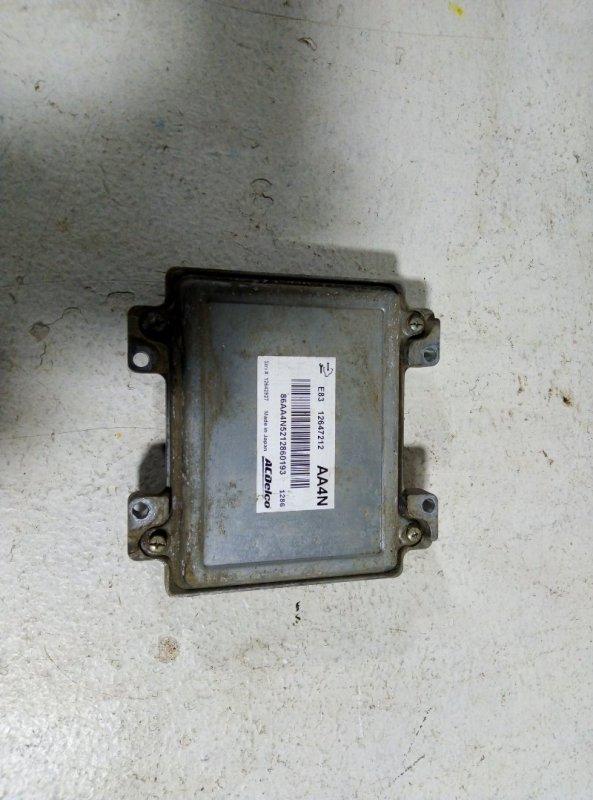 Блок управления двигателем Opel Astra J P10 A16XER 2012 (б/у)